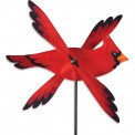Moulin à vent Premier Kites Whirligig Cardinal 17 oiseau cardinal 43 cm